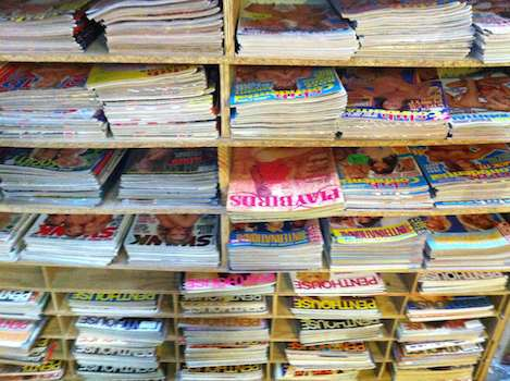 Thousands Of Back Issue Mags!