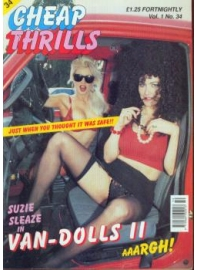 Cheap Thrills Issues 25 to 36