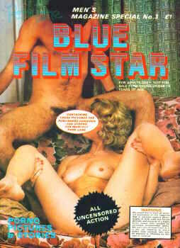 Blue Film Star No 03
